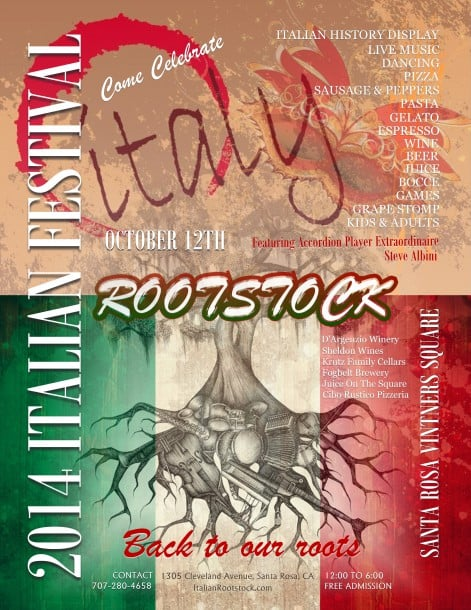 2014 Italian Festival in Santa Rosa, CA