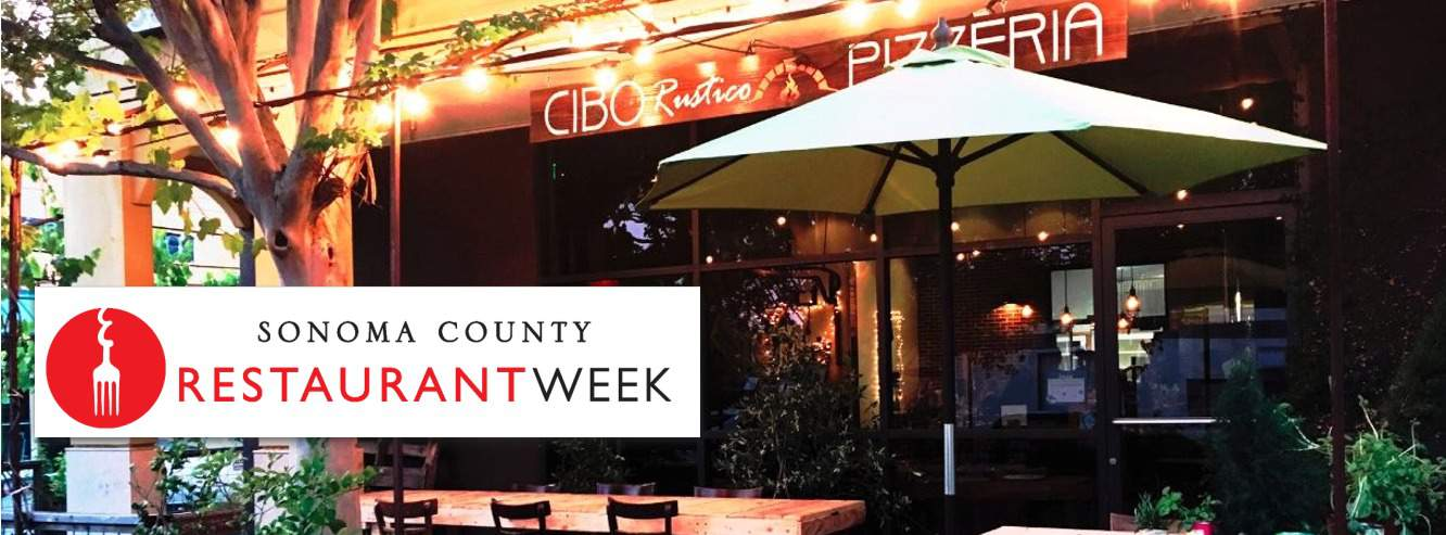 Restaurant Week in Santa Rosa at Santa Rosa Vintners Square Cibo Rustico Pizzeria