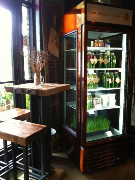 Organic Cold Pressed Green Juice