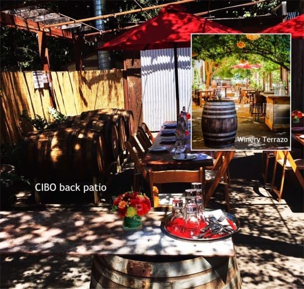 Patio for Private Event Santa Rosa
