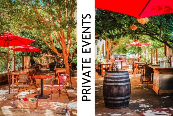 Private Party Events Santa Rosa