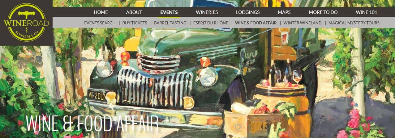 Wine & Food Affair 2018 Santa Rosa
