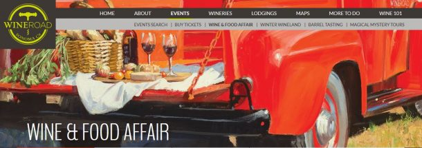 Winery Events Fall 2017